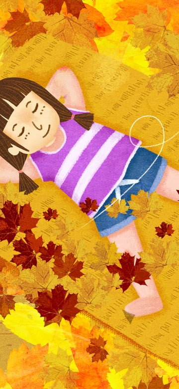 original vẽ minh họa cho mùa thu poster tiết lập thu Hình minh họa