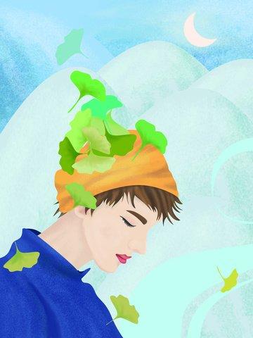 original illustration character literary male illustration image