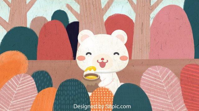 original vẽ minh họa cho rừng bạch hùng Hình minh họa Hình minh họa
