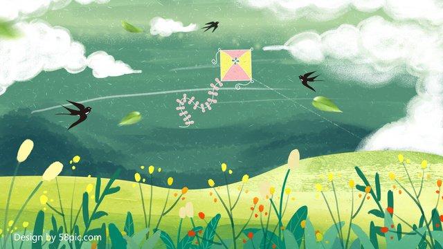 spring blossoms original illustration llustration image