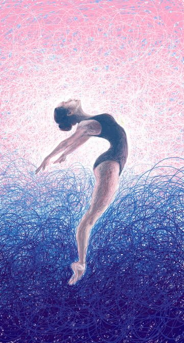 dançarina de balé pequeno original ilustração Material de ilustração Imagens de ilustração