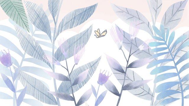 植物夏の新鮮なさわやかなテクスチャ夏の暑さ24ソーラー用語 イラスト素材 イラスト画像