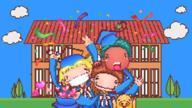 Formatura temporada edifício cartoon personagem pós graduação escola céu azul e nuvens brancasMapa  De  Números PNG E Vetor illustration image