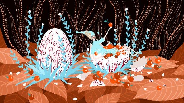 little fresh fairy tale wind autumn fall good night girl harvest llustration image