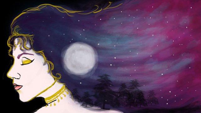 haoyue star cureイラストレーション イラスト素材 イラスト画像
