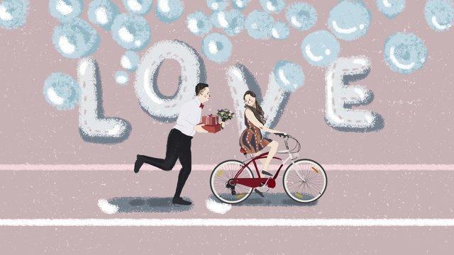 Tanabata valentines day original illustration llustration image illustration image