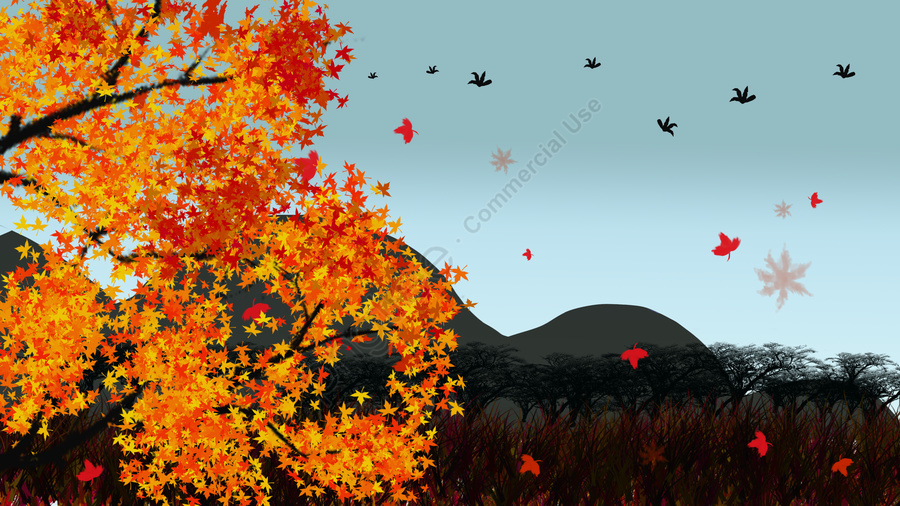 Hello September, Hello There, Hello Series, September llustration image
