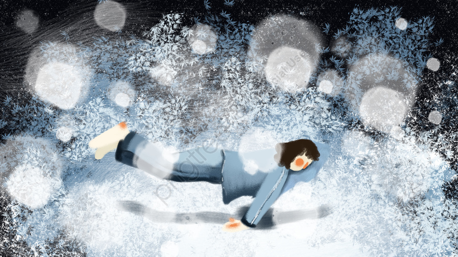 Hand-painted sleepwalking wonderland-sleeping-home-good night-healing illustration, サスペンション, マジック, 装飾画 llustration image