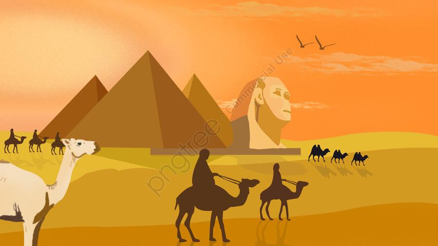 世界観光デーエジプトのピラミッド, 世界観光デー, エジプト, ピラミッド llustration image