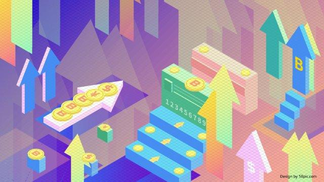 2 5d Интернет Финансы Биткойн Кредитная карта Блокчейн Иллюстрация Ресурсы иллюстрации Иллюстрация изображения