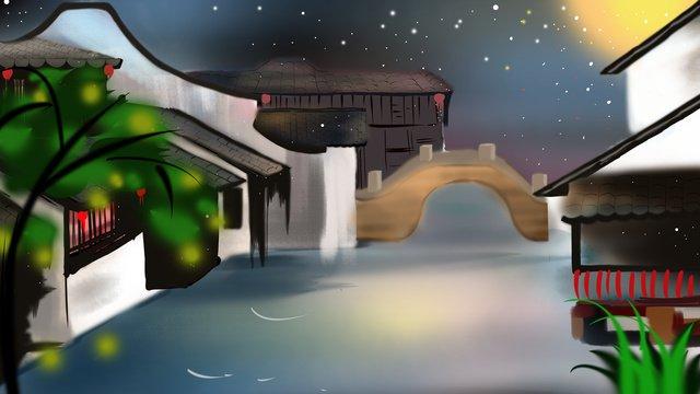 ancient architecture town illustration llustration image