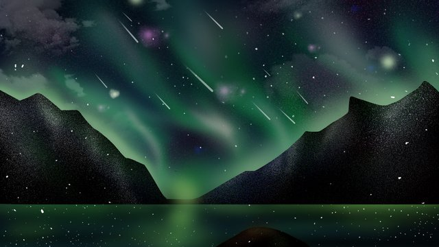 Aurora Png, Vector, PSD, and Clipart With Transparent