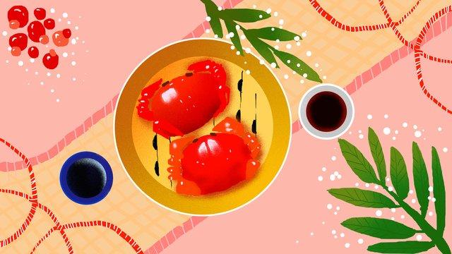 グルメカニ食品秋のイラスト イラスト素材 イラスト画像