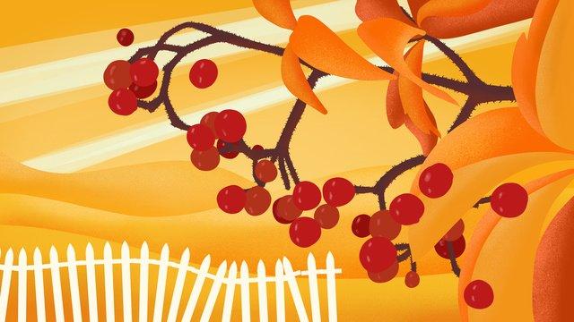 Autumn harvest illustration of a tree full fruits in season llustration image illustration image