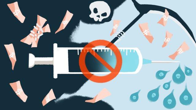 vẽ tay phim hoạt hình thần chết vấn đề sinh kế xã hội vắc xin minh họa gốc Hình minh họa Hình minh họa
