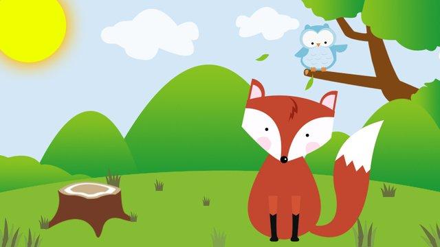 산림 치료 시스템 삽화 소재 삽화 이미지