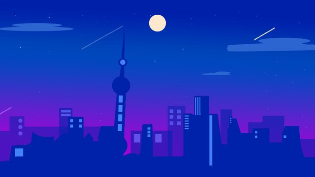 上海市オリジナルイラストの感想印象  上海  市 PNGおよびPSD illustration image
