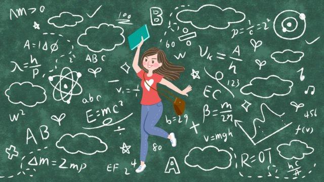 indo para a escola na temporada de adoro aprender ilustrações Material de ilustração