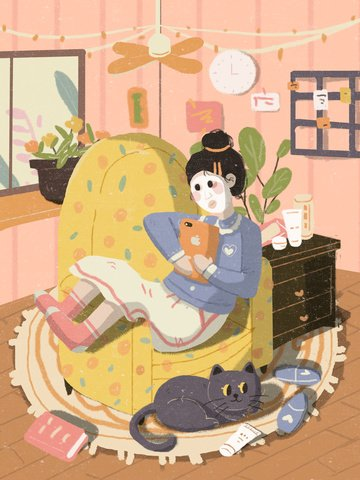 skincare beauty girl applying mask illustration illustration image