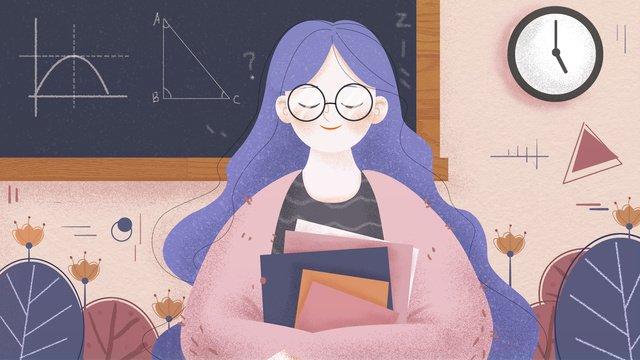 元の小さな新鮮なイラストhappy teachers day イラスト素材 イラスト画像