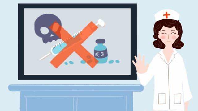 vắc xin sinh kế xã hội vấn đề thông gió thẻ y tá vẽ tay minh họa gốc Hình minh họa Hình minh họa