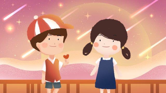 Chinese valentines day illustration llustration image illustration image