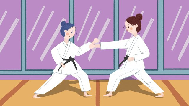 Đại hội thể thao châu Á lần thứ 18   dự án karate Hình minh họa Hình minh họa