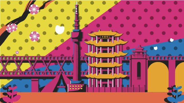 travel wuhan pope wind vector illustration llustration image