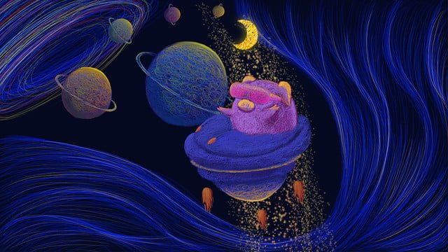 The wonderful journey of universe healing coil, Universe, Wonderful Journey Of The Universe, Healing Coil illustration image