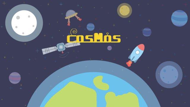 Cosmic space llustration image illustration image