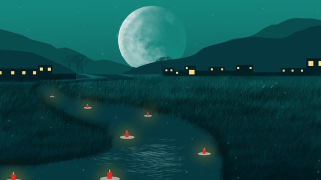 chinese lantern festival original illustration llustration image illustration image