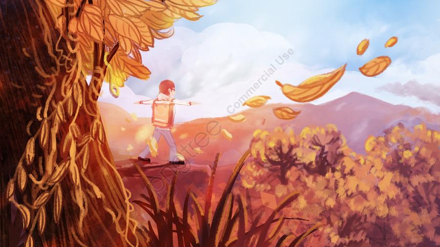 Hello autumn, Autumnal, Twenty Four Solar Terms, Autumn llustration image