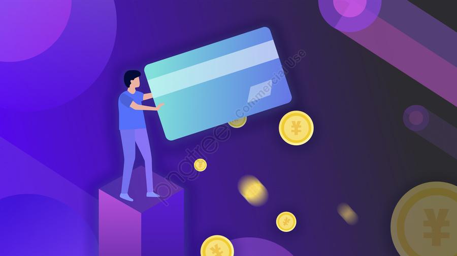 Владелец кредитной карты, бизнес, финансовый, Кредитная карта llustration image
