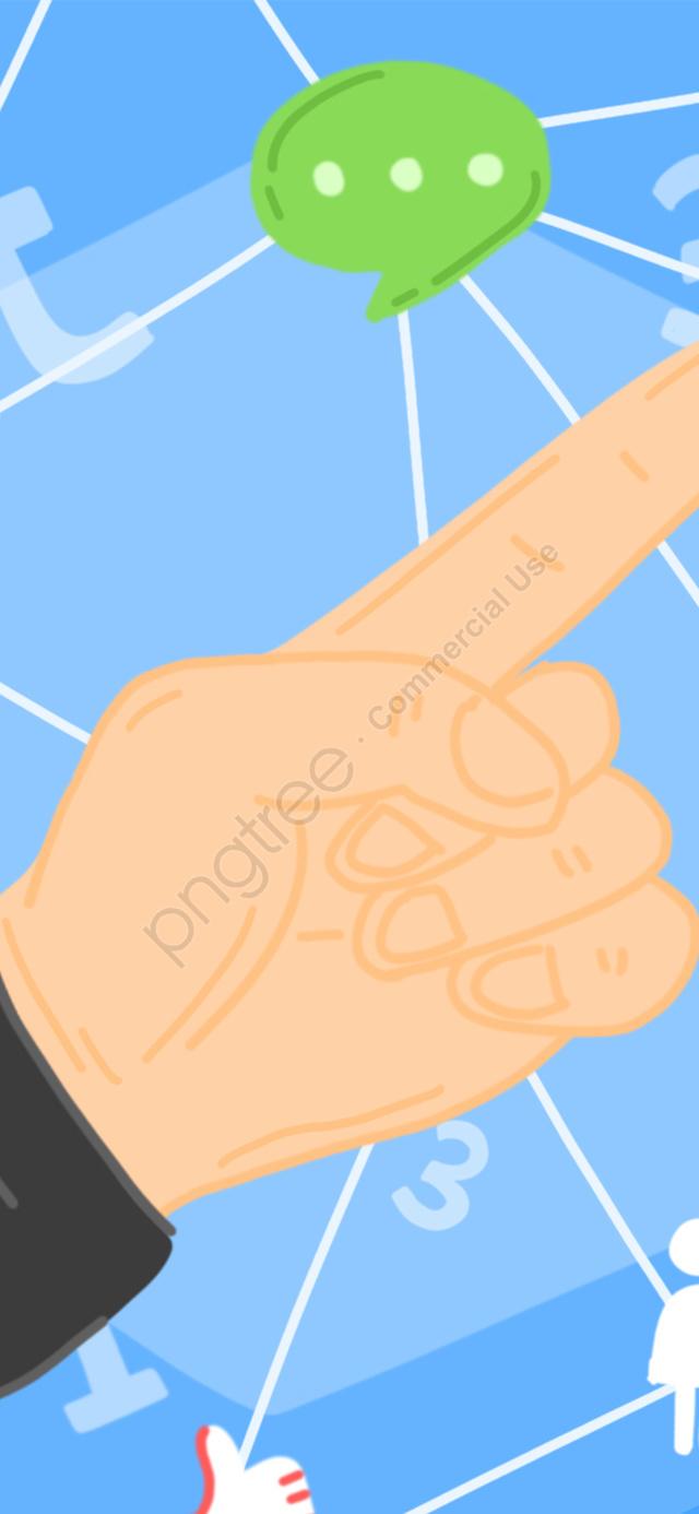 ビジネス指先の文字リンクネットワーク漫画イラスト, ビジネス, 交渉, リンク llustration image