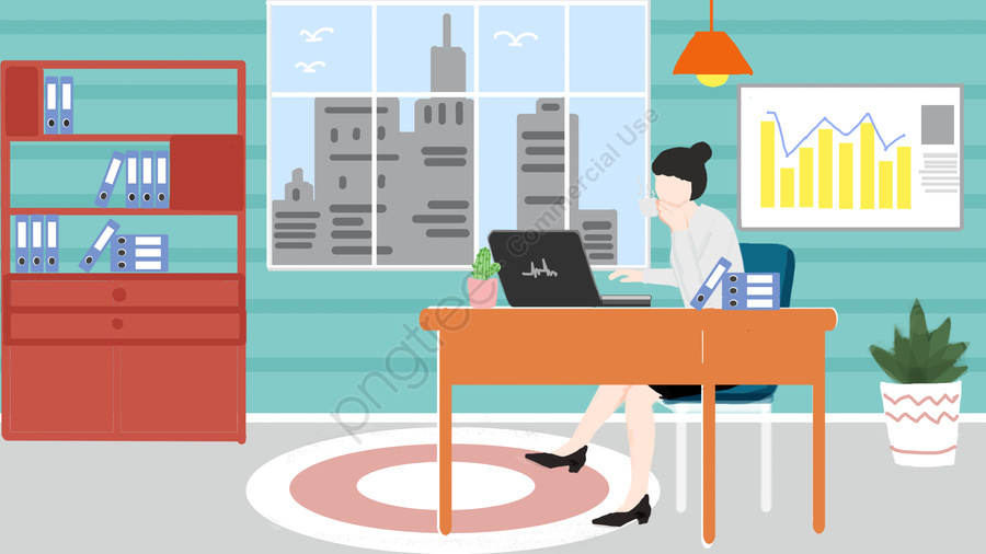 People In Business Office Work, Business, Office, Office llustration image