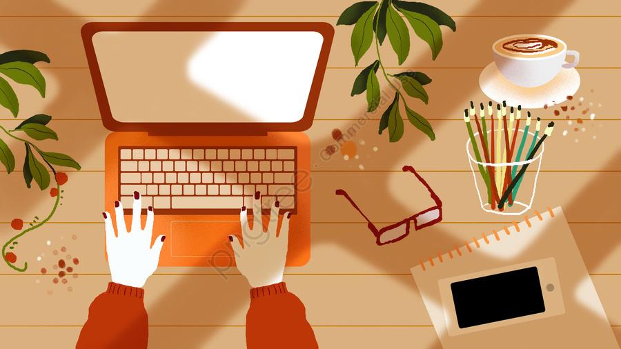 Minh Họa Cảnh Văn Phòng Doanh Nghiệp, Kinh Doanh, Văn Phòng, Cảnh Minh Họa llustration image