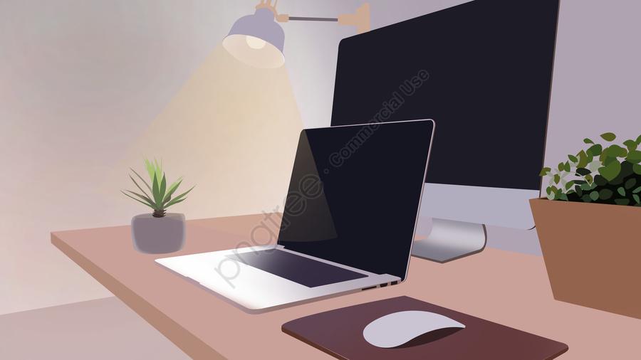 Business Office Scene 3, Business Office Scene, Illustration, Computer llustration image