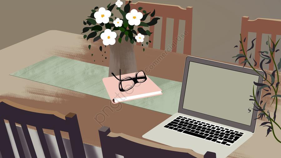 Business Office Scene 2, Business Office, Scenes, Illustration llustration image