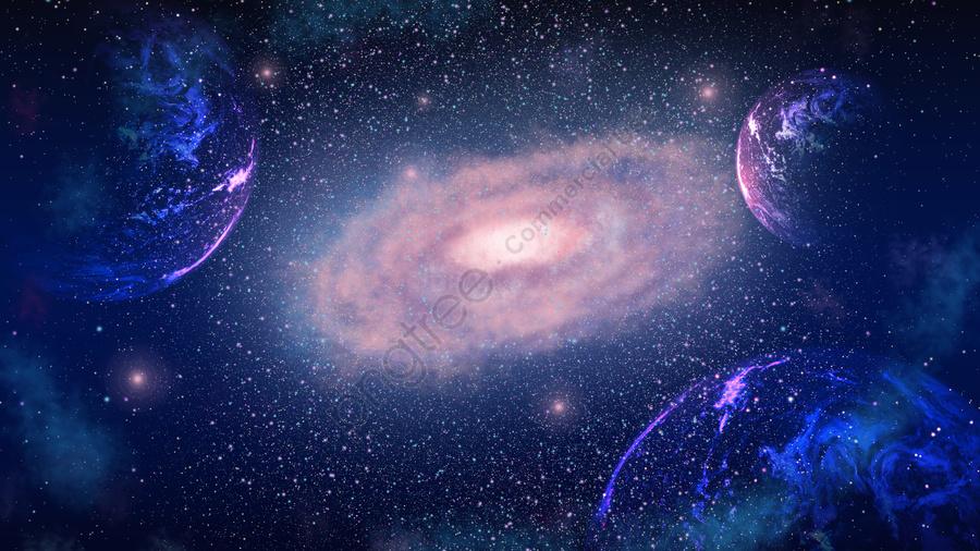 Healing Dream Starry Space Thám Hiểm Thẩm Mỹ Galaxy Minh Họa Poster, Chữa Bệnh, Giấc Mơ, Bầu Trời đầy Sao llustration image