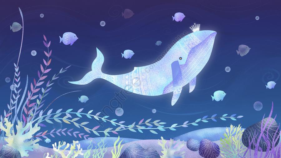 Maut Paus Penyembuhan Laut Dalam, Mimpi, Paus, Sembuh llustration image