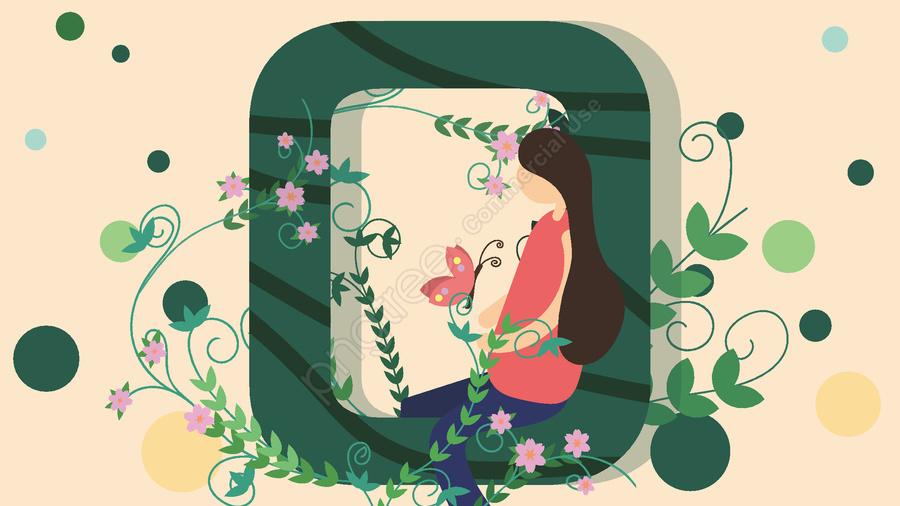 녹색 邂 Letter 편지 O 會 益 단순한 창조적 인 일러스트 레이션, 녹색, 매매, 신선한 llustration image