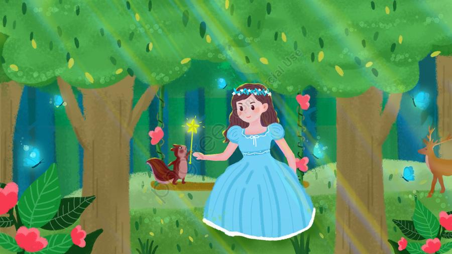 Сказочная страна: одинокие принцессы