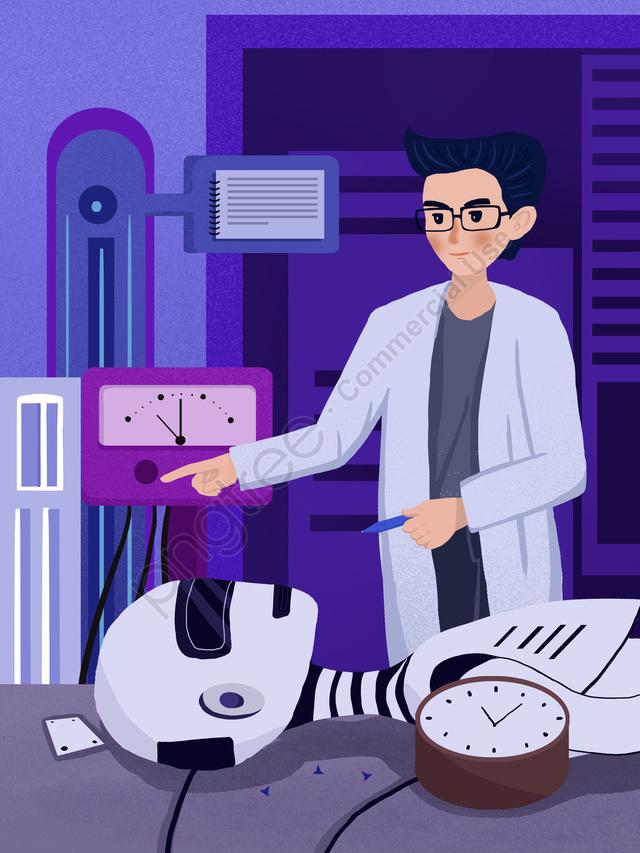 Technology future robot development test illustration, Robot, Intelligent, Technology Future llustration image
