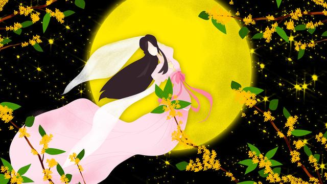 original illustration chinese traditional festival mid autumn llustration image illustration image