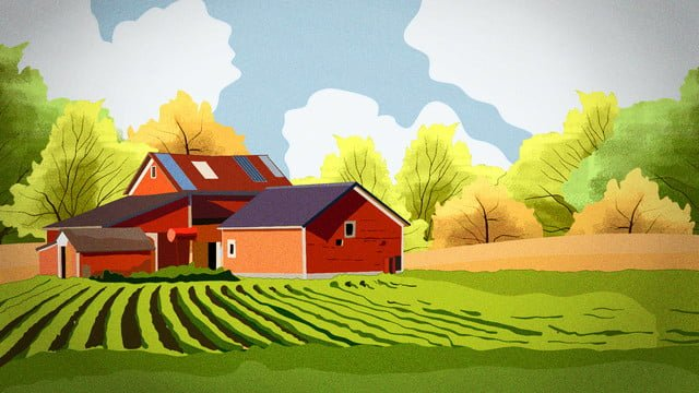 November hello tea house autumn scenery and llustration image illustration image