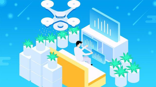 25d कृत्रिम बुद्धिमत्ता ड्रोन मूल ढाल चित्रण चित्रण छवि