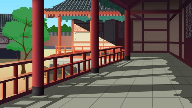 không khí đơn giản hành lang góc tinh tế và thực tòa nhà cổ kính nơi ở cũ của người nổi tiếng Hình minh họa Hình minh họa
