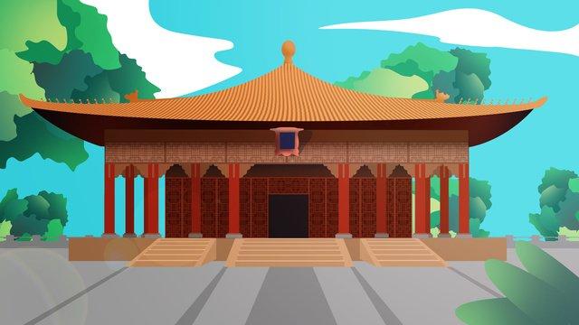 ancient architecture illustration llustration image illustration image