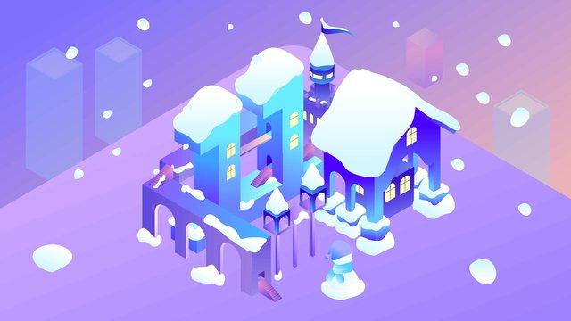 2 5d november hello winter snowy season gradient illustration llustration image illustration image