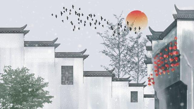 ancient style architectural emblem elegant atmosphere hand painted illustration llustration image illustration image